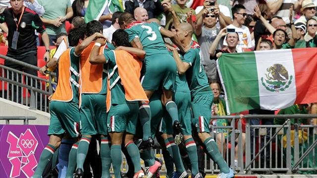 Mexico stun Brazil - Football - Olympic Games