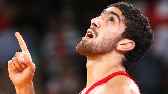 Wrestling Olympic gold double for Azerbaijan