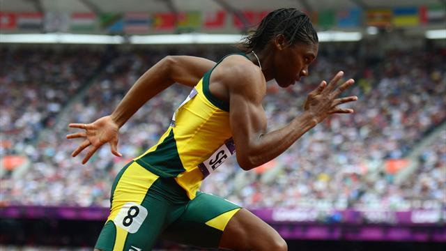 Semenya denies trying not to win Olympic title
