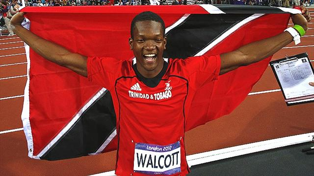 Walcott takes surprise javelin gold