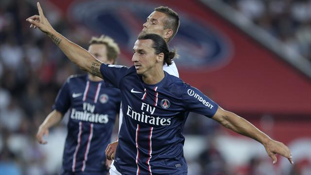 Ibrahimovic rescues PSG  - Football - Ligue 1