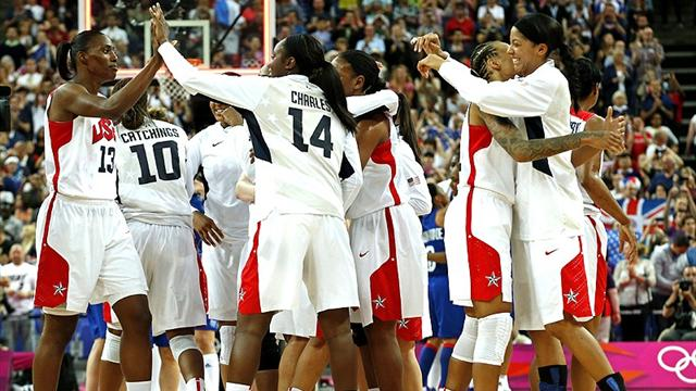 US win women's Olympic basketball gold