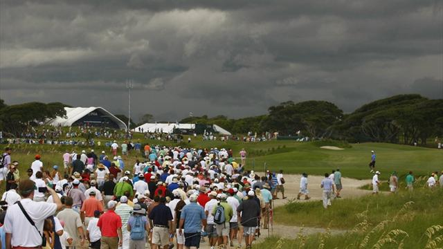 Storm halts McIlroy's US PGA progress and Tiger's slide