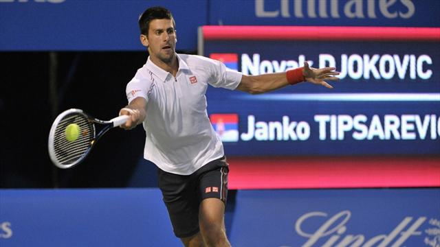 Djokovic downs Tipsarevic in Toronto semi