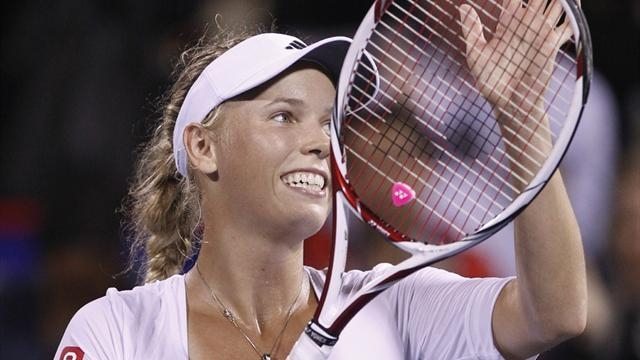 Wozniacki sets up Kvitova clash in Montreal