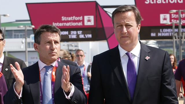 Cameron guarantees Team GB funding, appoints Coe