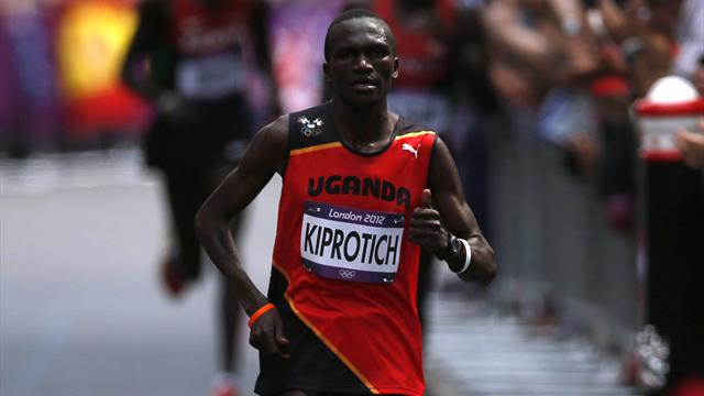 Kiprotich wins men's Olympic marathon gold