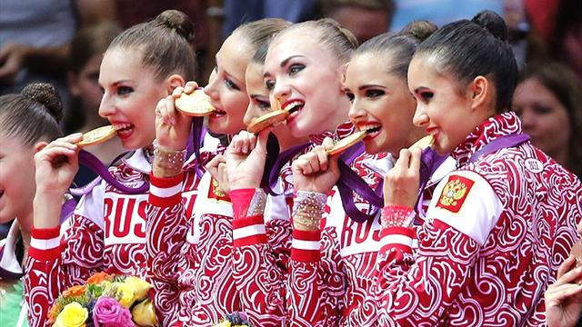 Russia win more Olympic gold in rhythmic gymnastics