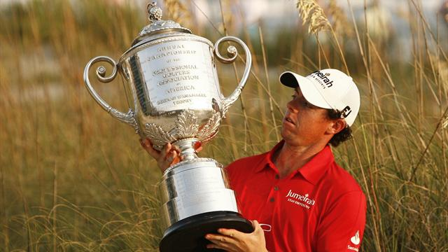 McIlroy storms to US PGA  - Golf - US PGA Championship