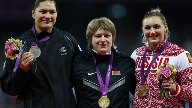 Ostapchuk stripped of Olympic gold medal