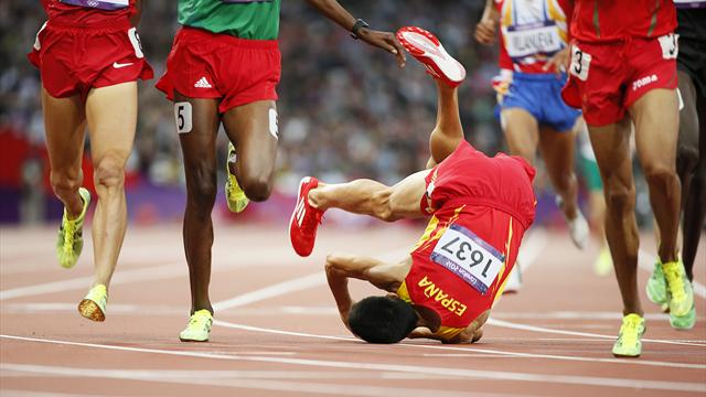Spain flop in athletics - Olympic Games - London 2012