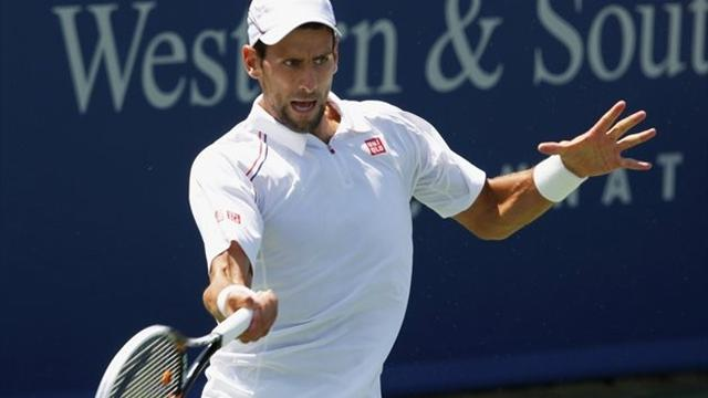 Djokovic too strong for Seppi, Federer cruises in Cincinnati