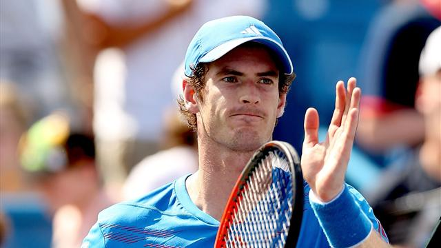 Murray outclasses Querrey in Cincinnati opener