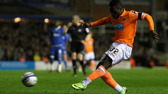 Dicko back with Blackpool  - Football