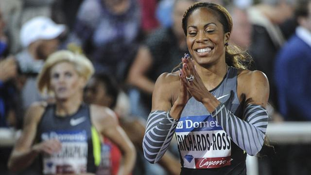 Richards-Ross snatches Stockholm win