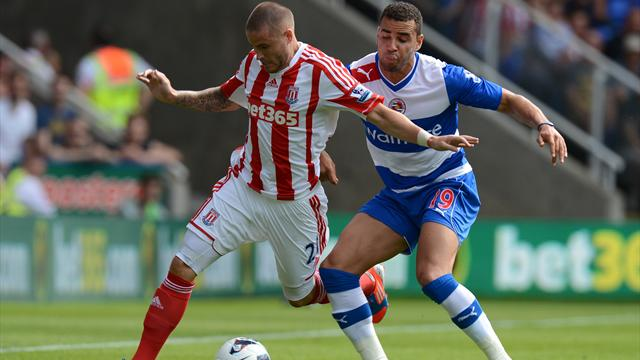 Reading 1-1 Stoke - Football - Premier League