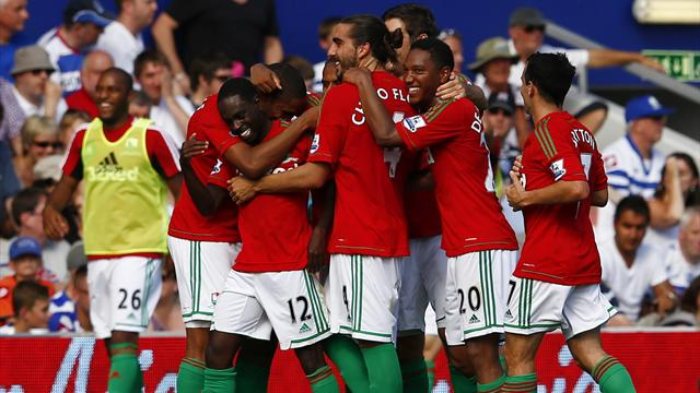Swansea put five past QPR - Football - Premier League