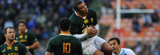 Les Boks sans pitié  - Rugby - Four-Nations