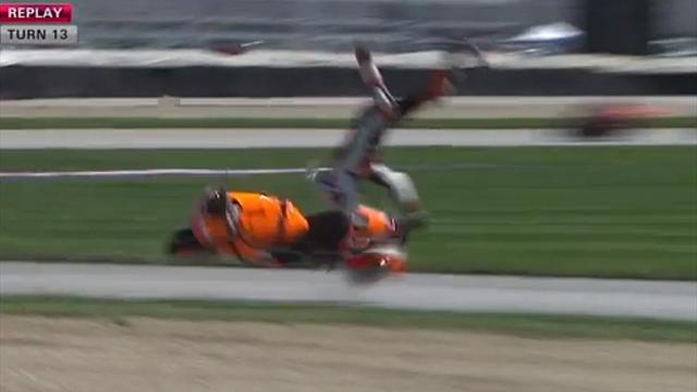 Stoner injured, Pedrosa on pole