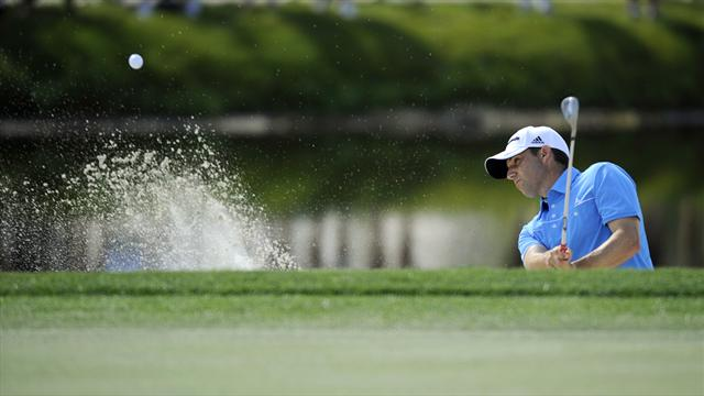 Garcia takes lead at Wyndham