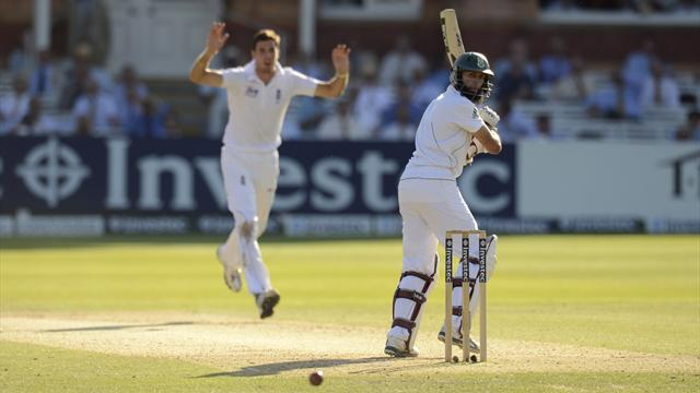 Amla frustrates England at Lord's
