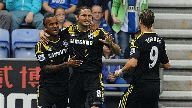 Chelsea win at Wigan - Football - Premier League