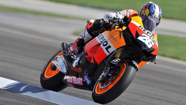 Pedrosa cruises to win - Motorcycling