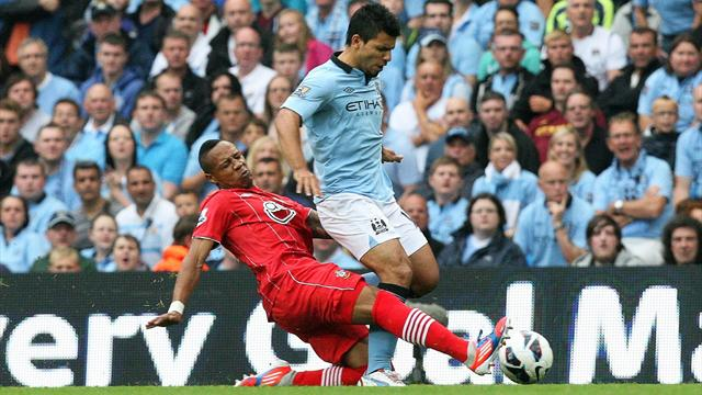 Aguero calms fears over knee injury