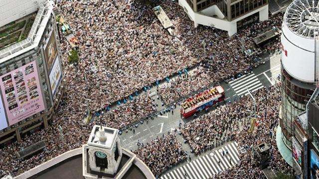 Tokyo's big Games parade - Olympic Games - London 2012