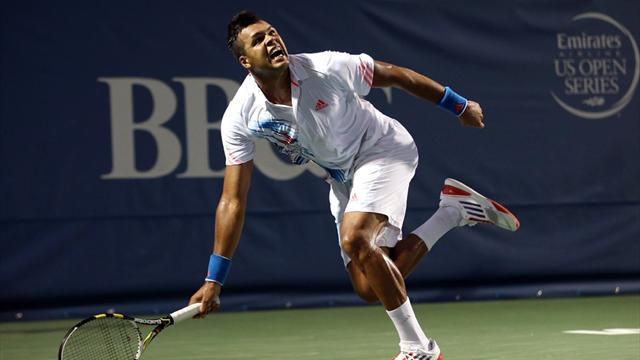 Tsonga marches on in Winston-Salem