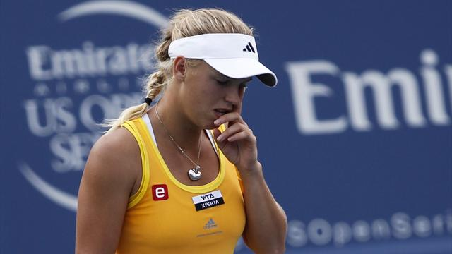 Wozniacki skadad - Tennis - WTA i New Haven