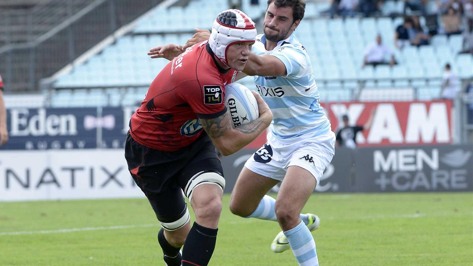 Joe Van Niekerk - Racing Toulon - 25 aout 2012