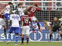 Sampdoria shock Milan