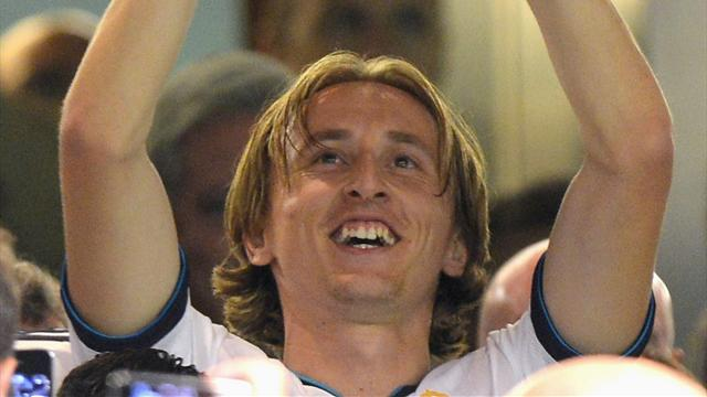 Modric revels in winning - Football - Spanish Liga