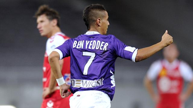 FOOTBALL - 2012/2013 - Toulouse-Reims - Ben Yedder