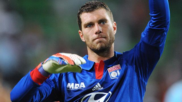 FOOTBALL 2012 Lyon - Remy Vercoutre
