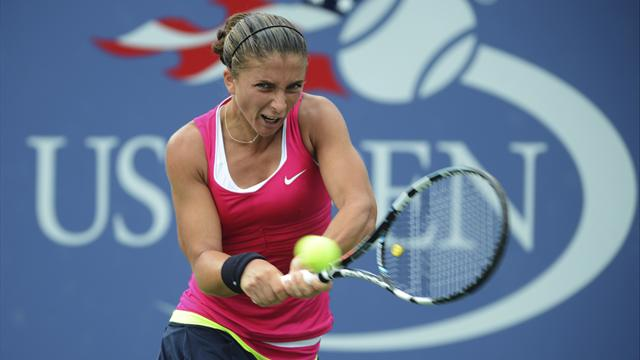 Sara Errani till semi - Tennis - US Open
