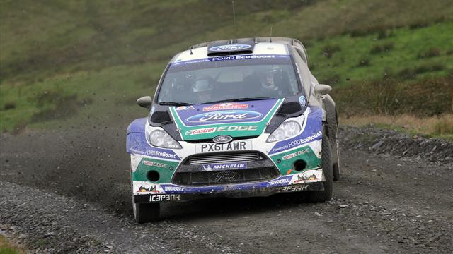 Latvala dominates Rally GB - WRC