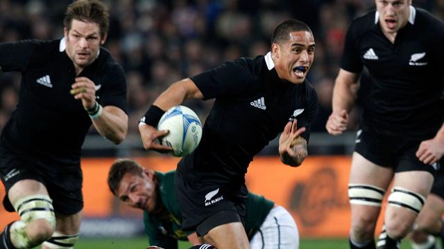 Les All Blacks chanceux - Rugby - Four-Nations
