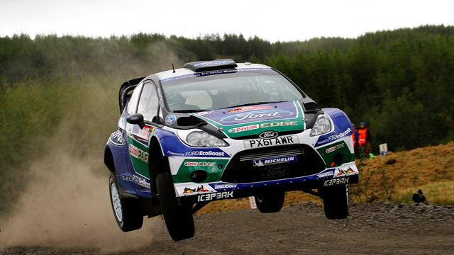 Latvala wins Rally GB - WRC