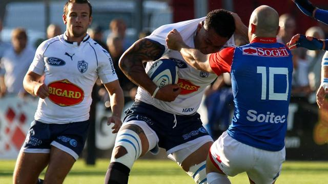 Agen se donne de l'air - Rugby - Top 14