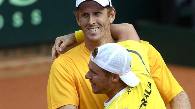 Aussies on verge - Tennis - Davis Cup