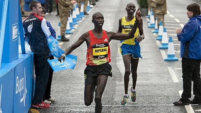 Kipsang and Dibaba take Great North Run titles