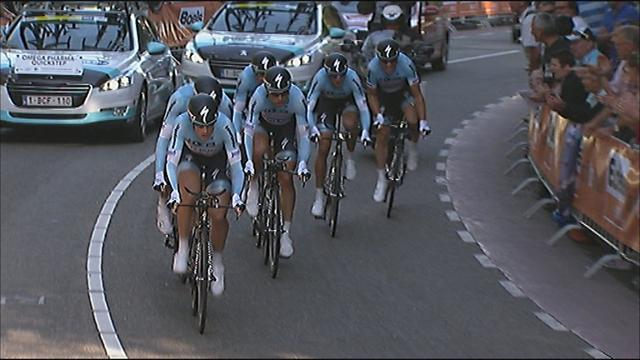 TTT gold for Omega Pharma - Cycling