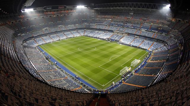 View of the Bernabeu, Madrid (Reuters)