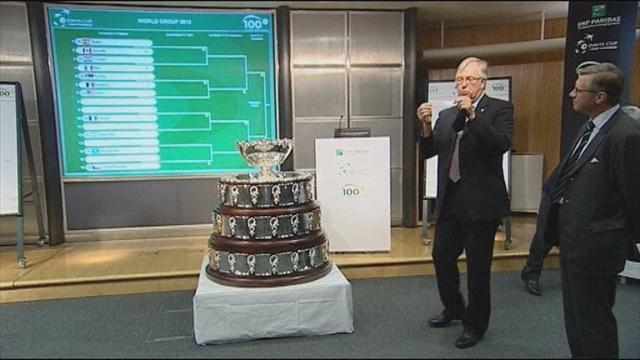 Spain face long trip  - Tennis - Davis Cup