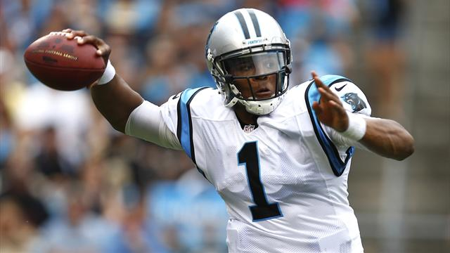 Newton's double threat - American Football - NFL