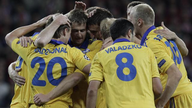 BATE record historic win - Football - Champions League