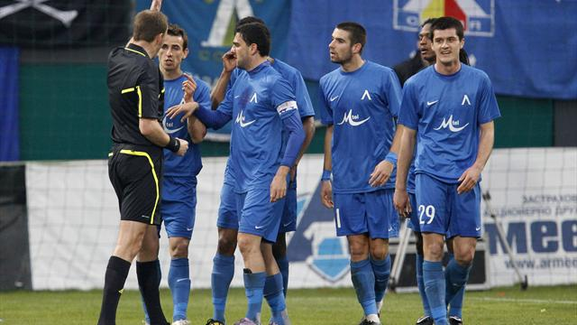 UEFA fine Levski Sofia for racist abuse