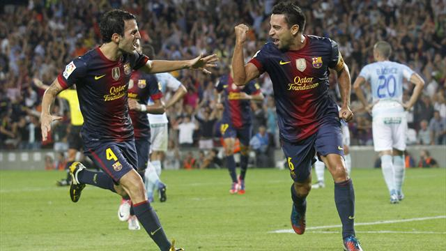 Barcelona leave it late - Football - Liga